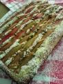 Rhabarber- Pistazienkuchen