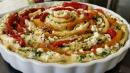 Was gerolltes aus dem Ofen…Paprika- Schafskäse- Pinwheel