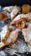 Mini- Strudel mit Mango- Frischkäsefüllung