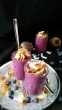 Food & Glas…Vanille- Blaubeeren- Joghurt mit rote Bete