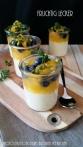 Orangen- Dessert mit Blaubeeren- Pistazien & Zitronen- Thymian