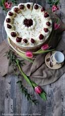 Flockensahne- Torte