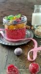 Himbeer- Quinoa mit bunten Früchten