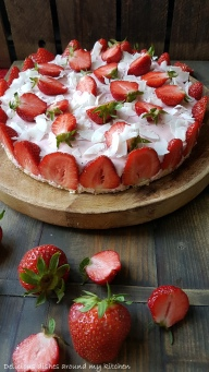 Erdbeer- Kokos- Törtchen